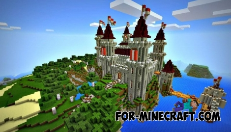 Darkthorn Castle map for MCPE 0.12.1
