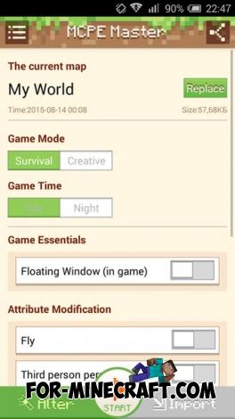 MCPE Master v2.0.15 app (1.0/1.1)