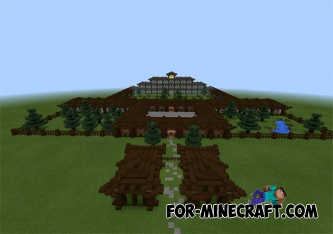 Temple of Ezerlia map for Minecraft PE 0.12.1