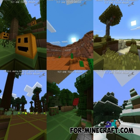 SimplePixelCraft texture for MCPE 0.12.1