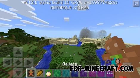 PvPCraft v2 Faithfull 64×64 textures for Minecraft PE 0.12.1