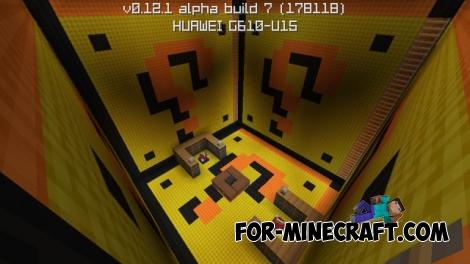 SkyWars Mario map for Minecraft PE 0.12.1