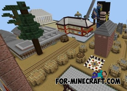 Chernobyl Empire map for Minecraft PE 0.12.1
