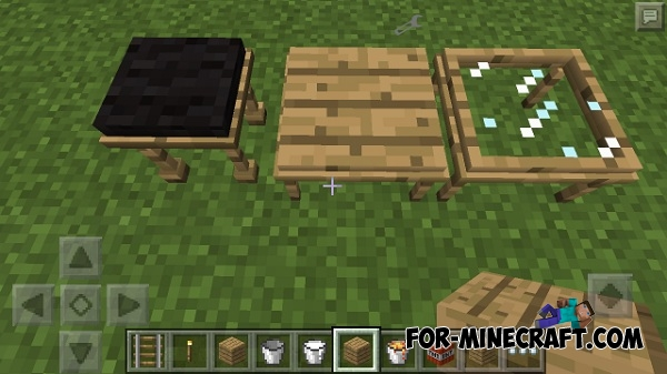 Electrics Furniture Mod For Minecraft Pocket Edition