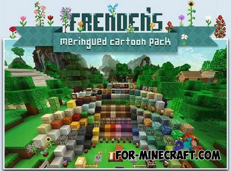 Frenden's Meringued Cartoon texture for Minecraft PE 0.12.1