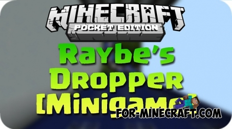 Raybe's Dropper map for Minecraft PE 0.12.1