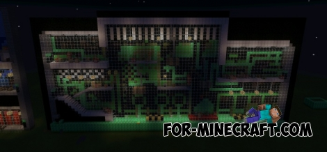 Superfighters map for Minecraft Pocket Edition 0.12