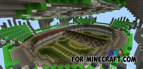Mob Arena map for Minecraft PE 0.12.1