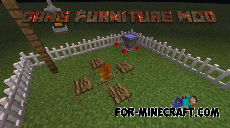Dan's Furniture Mod for Minecraft PE 0.12.1/0.14.0/0.14.1