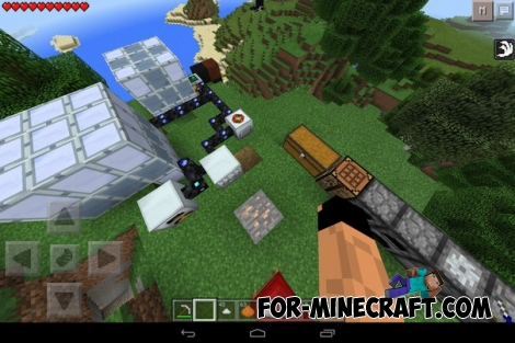 AlTech 1.0 BETA mod for Minecraft PE 0.12.1