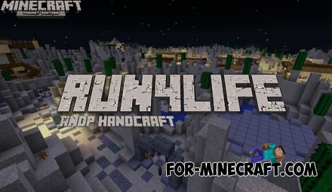 Run4life map for Minecraft PE 0.12.1