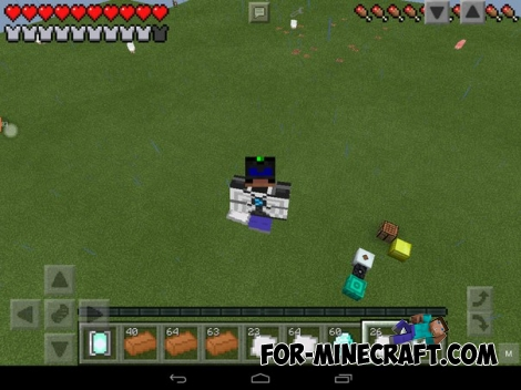 Gravity Suite mod v1.0 for Minecraft PE 0.12.1