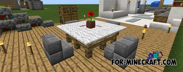Furniture Ideas Map For Minecraft Pe