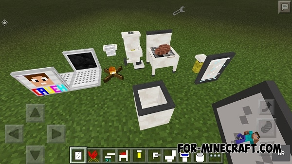 Cauehcraft Furniture Mod For Mcpe
