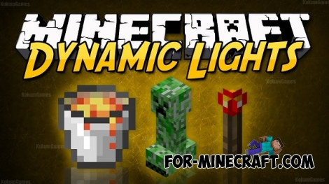 DynamicLightsPE v1.3 for Minecraft Pocket Edition 0.12/0.14.0