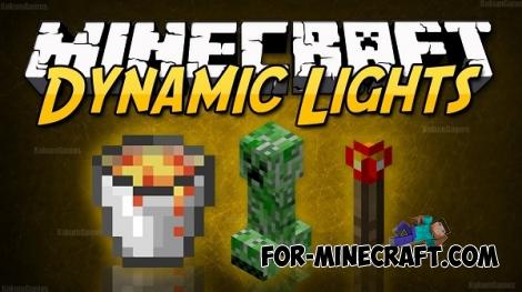 DynamicLightsPE v1.3 for Minecraft Pocket Edition 0.12/0.14.0