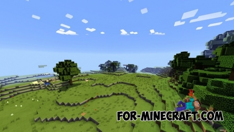 Beauty shader for Minecraft Pocket Edition 0.12.1