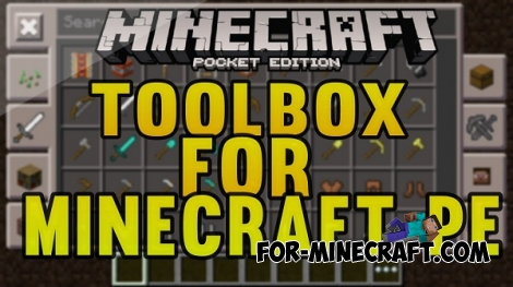 Toolbox v3.2.14 for Minecraft PE 0.15/0.16/0.17.0 (1.0.0)