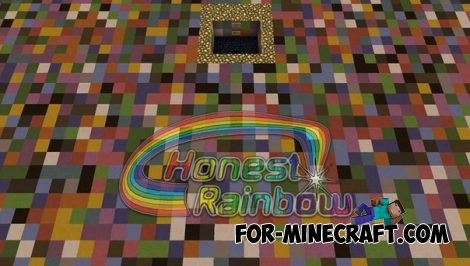 Honest Rainbow map [v2.0] for MCPE 0.8.0 - 0.12.1