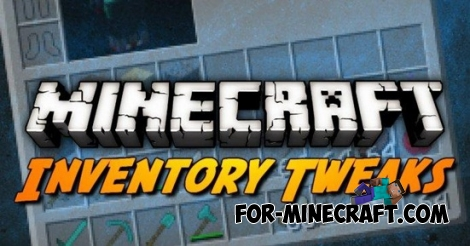 Inventory Tweaks mod for Minecraft Pocket Edition 0.12.1