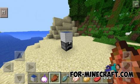 Solar Panel mod for Minecraft PE 0.12.1