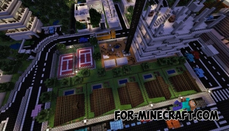 Ciudad City map for Minecraft PE 0.12.0 / 0.12.1