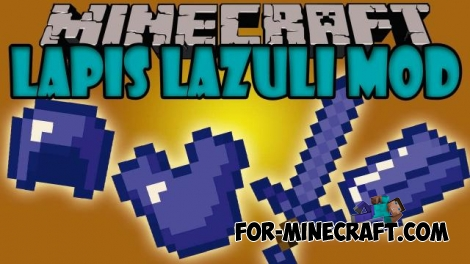Lapis Lazuli Tools mod for 0.12.1 / 0.12.2