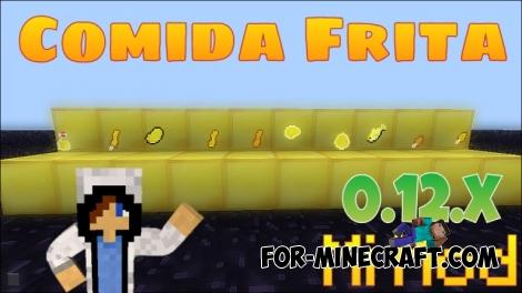 Fried foods / Comida Frita mod for Minecraft PE 0.12.2