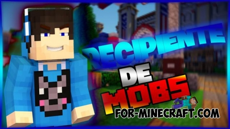 Mob container / Recipiente De Mobs mod for MCPE 0.12.X