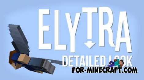 Elytra mod for Minecraft PE 0.12.X