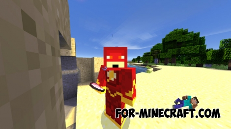 The Flash Mod for Minecraft PE 0.11/0.12/0.14
