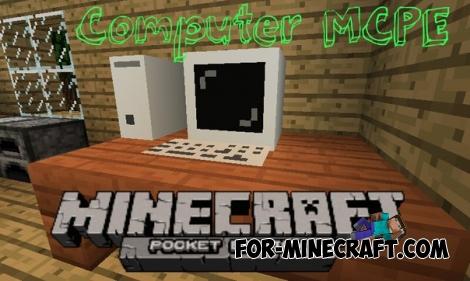 Computer mod for Minecraft PE 0.12