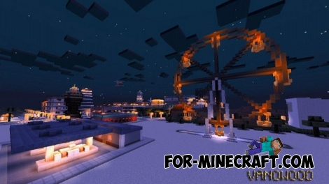VANOWOOD city map for MCPE 0.12.X