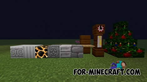 Lamps Mod for Minecraft PE 0.12.1/0.12.2/0.12.3