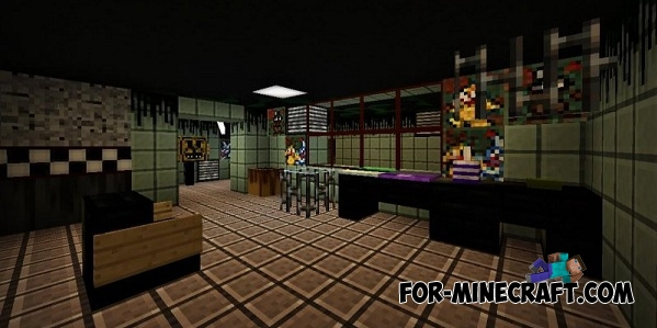 Attraction fnaf 3 map mcpe 0 13 0 187 for minecraft com minecraft