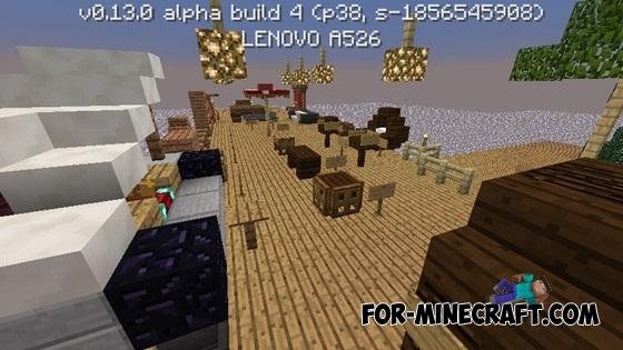 Furniture Ideas map for Minecraft PE 0 13 0. Ideas map for Minecraft PE 0 13 0