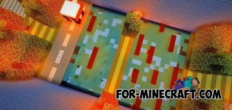 Crossy Road map for Minecraft PE 0.13.0