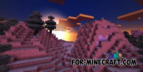 Ender Shader v2 for Minecraft PE 0.13.0