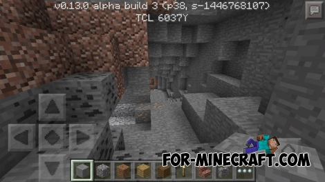 Increasing gamma in Minecraft PE 0.13.0