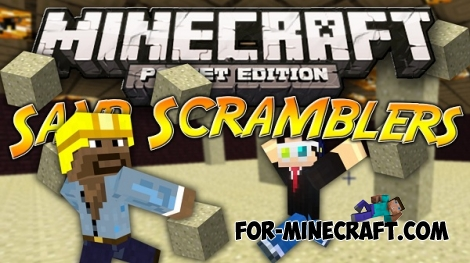 Sand Scramblers map for Minecraft PE 0.13.0