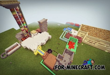THE Chrome map for Minecraft PE 0.13.0