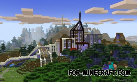 Mine York City map for MCPE 0.13.0