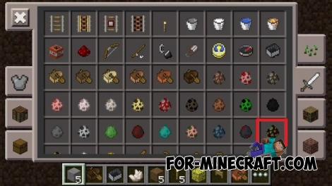 Minecraft PE 0.14.0 - inventory
