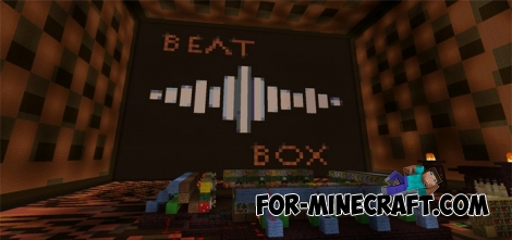 BeatBox map for Minecraft PE 0.13.0