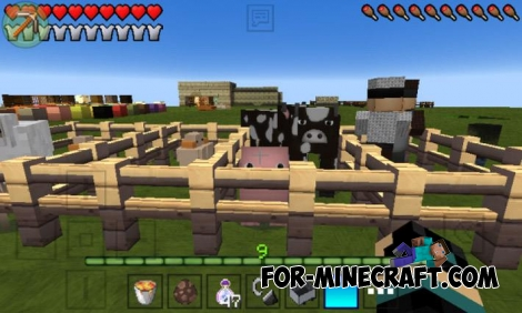 Flows HD texture for Minecraft PE 0.14/0.15/0.16/0.17.0 (1.0)