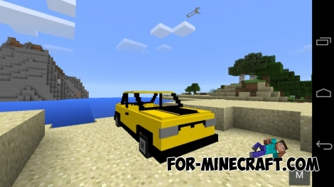 CarPe mod for Minecraft PE 0.13.0