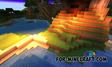 Hellish Monsters Shaders for MCPE 0.13.0