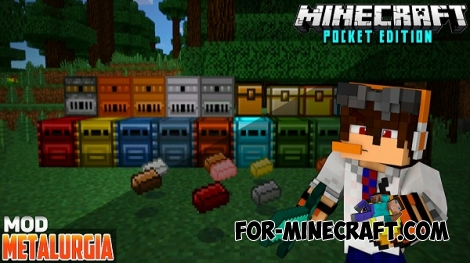 Metallurgy 3 [Putting the Mine back in Minecraft PE!]