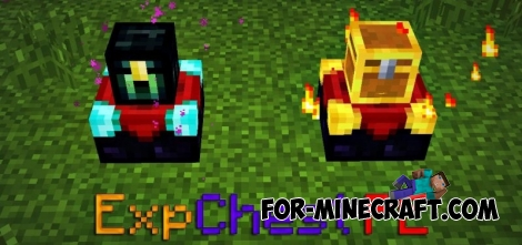 ExpChest PE mod for Minecraft PE 0.13.0/0.13.1