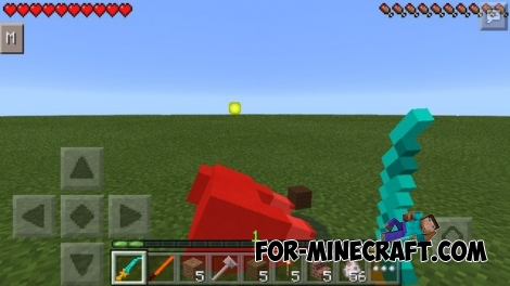 Legendary Weapons mod for Minecraft PE 0.13.1